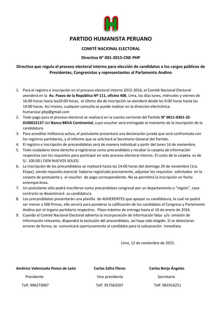 Directiva 01  PHP
