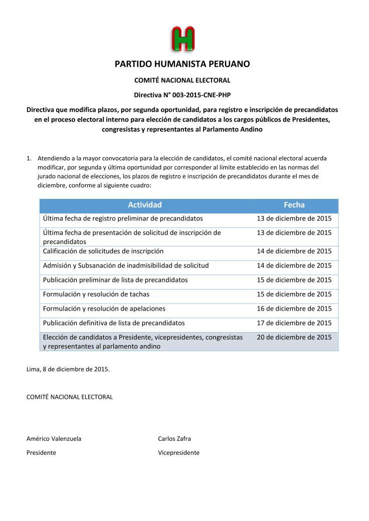 directiva 03