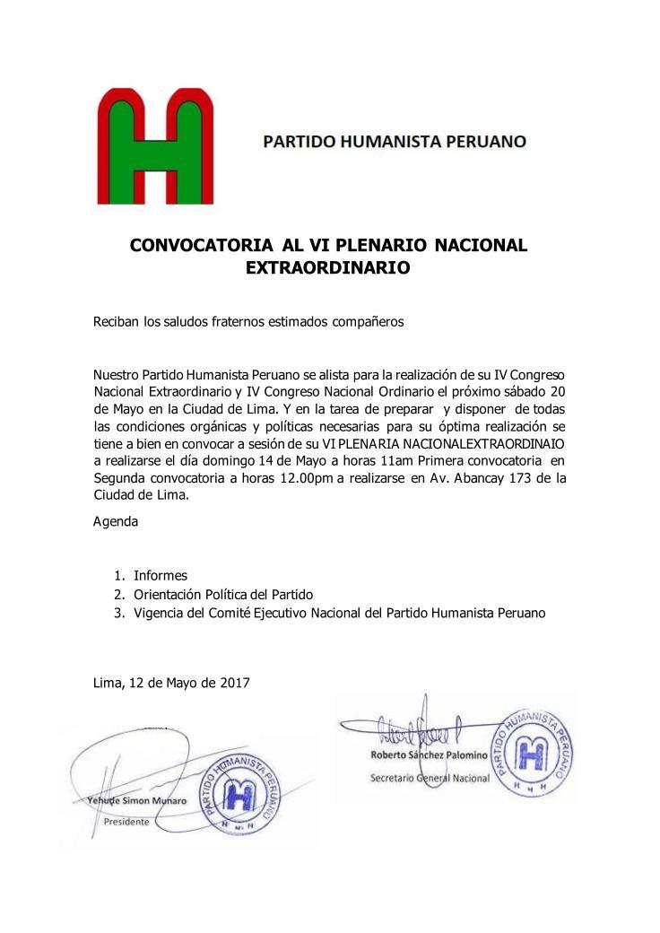 VI Plenaria Nacional Extraordinario12_01
